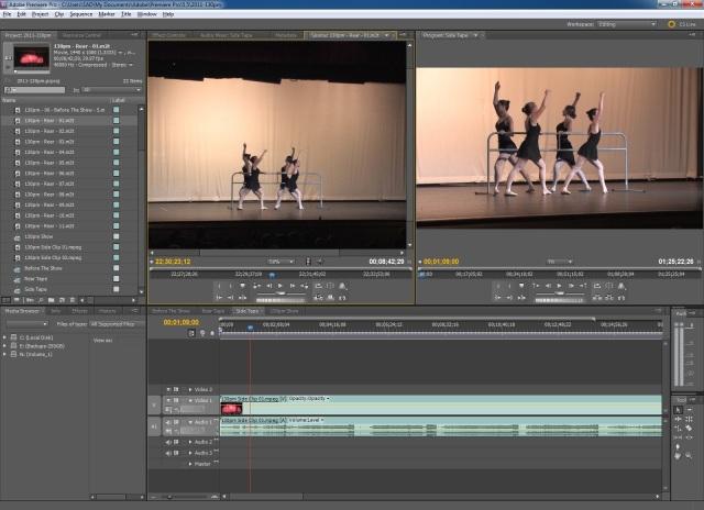 Sample Video Editing Screenshot