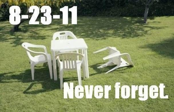 Earthquake - Aug 23, 2011